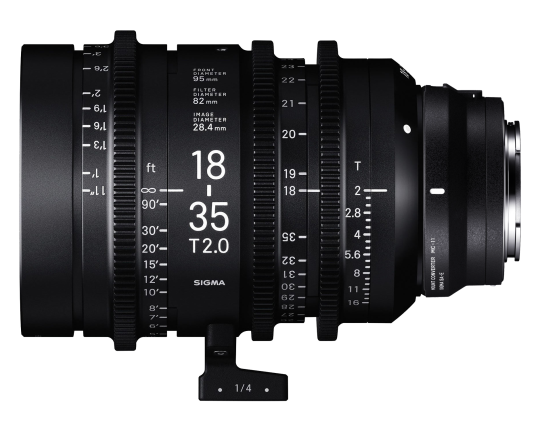 Sigma 18-35mm T2 High-Speed Zoom - Sony Fit