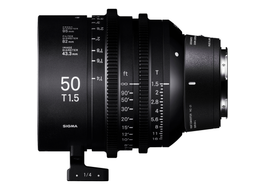 Sigma 50mm T1.5 High-Speed Cine Prime - Leica Fit