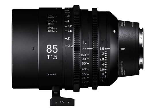 Sigma 85mm T1.5 High-Speed Cine Prime - Leica Fit