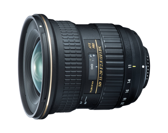 Tokina 11-20mm ATX Pro F2.8 DX - Nikon Fit