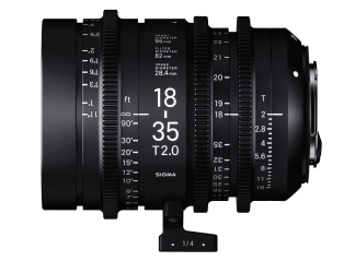 Sigma 18-35mm T2 High-Speed Zoom - Canon Fit
