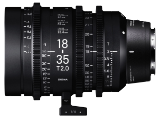 Sigma 18-35mm T2 High-Speed Zoom - Leica Fit