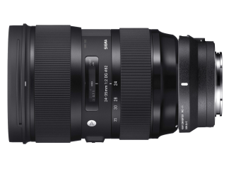 Sigma 24-35mm f/2 DG HSM Art + MC-11 - Sony Fit