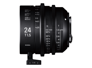 Sigma 24mm T1.5 High-Speed Cine Prime - Canon Fit