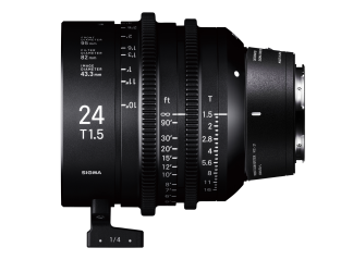 Sigma 24mm T1.5 High-Speed Cine Prime - Leica Fit
