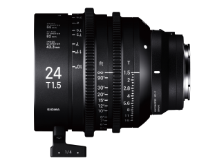 Sigma 24mm T1.5 High-Speed Cine Prime - Sony Fit