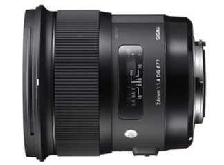 Sigma 24mm f1.4 DG HSM Art - Canon Fit