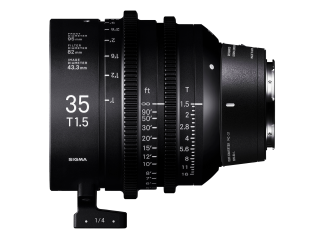 Sigma 35mm T1.5 High-Speed Cine Prime - Leica Fit