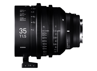 Sigma 35mm T1.5 High-Speed Cine Prime - Sony Fit