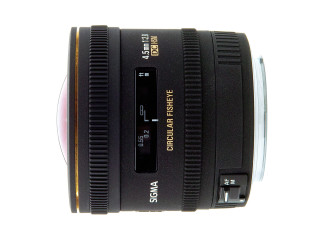 Sigma 4.5mm f2.8 EX DC Circular HSM - Canon Fit