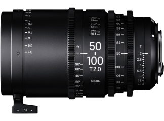Sigma 50-100mm T2 High-Speed Zoom - Canon Fit