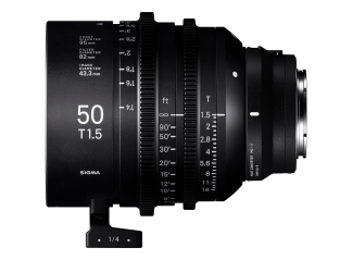 Sigma 50mm T1.5 High-Speed Cine Prime - Sony Fit