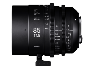 Sigma 85mm T1.5 High-Speed Cine Prime - Canon Fit