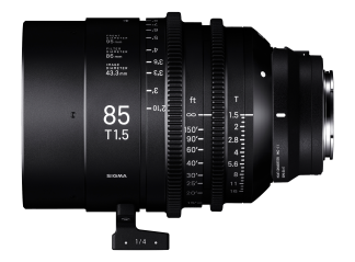 Sigma 85mm T1.5 High-Speed Cine Prime - Sony Fit