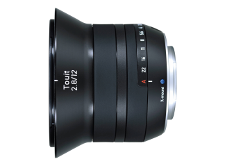 Zeiss 12mm f2.8 E Touit Lens - Fuji Fit
